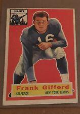1956 Topps #53 Frank Gifford NEW YORK Giants Hall of Famer 1956 MVP
