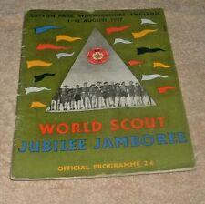 More details for a vintage world scout jubilee jamboree official programme 1957 - sutton park