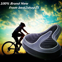 Wide Big Bum Bike Bicycle Cruiser Comfort Sporty Soft Pad Saddle Seat Universal