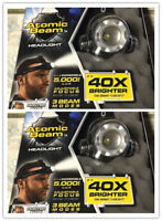 New Tough Grade CREE LEDS Headlight 40X Brighter 5000 Lux Adjustable Focus