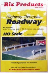 HO Scale - Highway Overpass ROADWAY - Kit RIX-628-0106