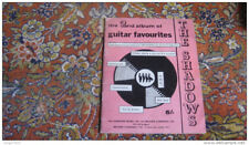 THE SHADOWS guitare partition album guitar 2 song sheet music book Hank Marvin