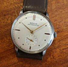 REVUE CAL. 77, bellissimo dress watch stainless steel, 33,80mm