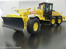 HBM Nobas BG190TA-3 Motor Grader Hinnenkamp NZG 1:50 Metall OVP NEU #638/06 #