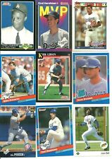 Lot of 50 of the Los Angeles Dodgers Star Players/ Rookies of the late 80's,90's