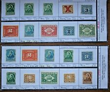 CANADA Tax Stamps - Interesting Lot of 20 Stamps (Lot #12)