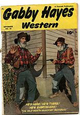Gabby Hayes Western #10 Good 1949 Wild West's Wackiest Buckeroo       CBX1U