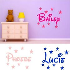 Names Wall Stickers