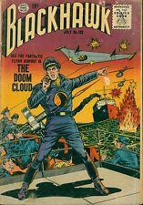 "QUALITY (1956) BLACKHAWK #102 -- July  - ""The Doom Cloud"" - 3.5 VG-"