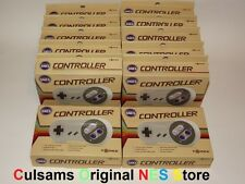 12 New Super Nintendo Snes Game Controllers Wholesale Lot With 30 Day Guarantee