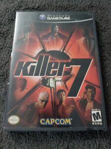 Killer7 (Nintendo GameCube, 2005) Complete w/ Box and Manual VERY RARE CIB