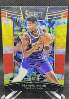 DeAndre Ayton 2018-19 Select Concourse Prizm ROOKIE TRI COLOR RC #2 Phoenix Suns