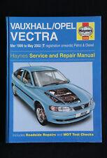 Haynes #3930 Vauxhall Opel Vectra 1999-2002 service & repair manual