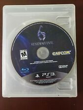 PS3 Resident Evil 6  Good Condition! DISC ONLY!!