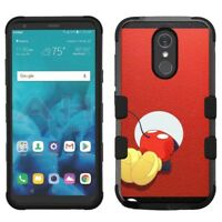 for LG Stylo 4 Armor Impact Hybrid Cover Case Mickey Mouse #BH