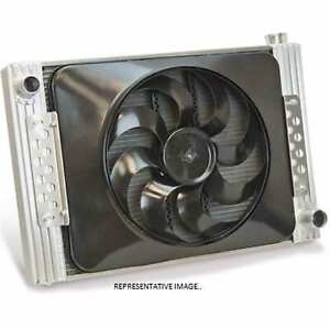 "Flex-A-lite 52180r Radiator / Electric Fan Combo 22"" Core Right Inlet W/ #180 Fa"