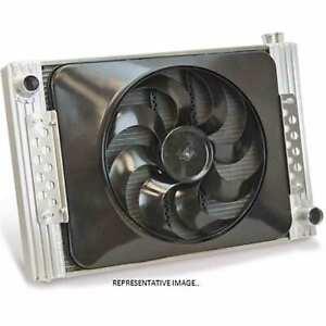 "Flex-A-lite 52180r Radiator / Electric Fan Combo 22"" Core Right Inlet W/ #180 Fa"