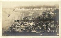 Niagara Falls in Winter c1920s Real Photo Postcard