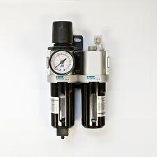 MINDMAN MACP300-10A Air unit, FRL, 3/8 NPT, w/ pressure gauge