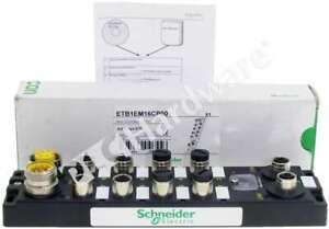 New Schneider Electric ETB1EM16CP00 Modicon ETB Block 16 I/O Modbus TCP/IP