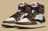 Nike Air Jordan 1 Retro High Travis Scott Sail Mocha (CD4487-100) Men 8