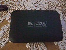 Huawei E5770 LTE 150Mbps Cat.6 4G Mobile Wifi Hotspot 5200mAh WLAN Mifi Black O2