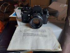 Sears KS auto 35mm camera with instructions