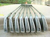 Tommy Armour 845s EVO V-31 Iron Set Golf # 3-9+PW+51*Wdg / S Flex LH Steel Shaft
