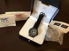 DPW UNO Vintage 80's Watch Serviced Quartz Breitling EDC Lume PVD Box Papers