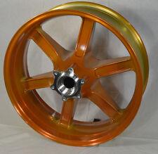 G1309.02A8YBR NEW In Box Buell Rear Translucent Amber Wheel, All XB'S & 1125's