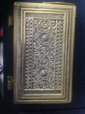 Antique Erhard &sohne Germany Brass Repousse Pad Holder