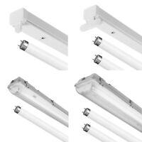 T8 HF Fluorescent Single Twin Standard Batten or IP65 Non-Corrosive 2, 4, 5, 6ft