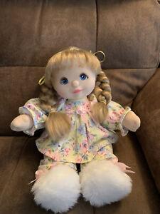 Vintage UL Beautiful Peach Skin European My Child Doll Mattel