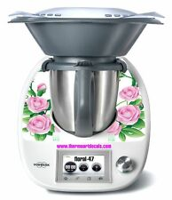 Thermomix TM5 Sticker Decal  (Code: Floral 47)