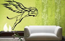 Animal Mythological Flying Tiger Decor Wall Mural Vinyl Sticker i003