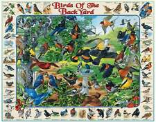 Jigsaw puzzle Animal Birds of the Backyard 750 piece NEW Made in USA