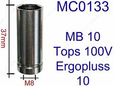 Gasdüse Gasdüsen Zylindrisch MIG/MAG Brenner MB10, Plus10, SP10, TOPS100V MC0133