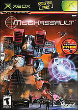 ~* MechAssault  (Xbox, 2002) Platinum Hits Only On XBOX COMPLETE TESTED *~