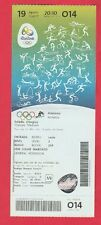 Orig.Ticket  Olympische Spiele RIO DE JANEIRO 2016 - Leichtathletik 19.08. ! TOP