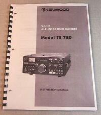 Kenwood TS-780 Instruction Manual - Premium Card Stock Covers & 28 LB Paper!