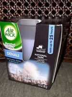 Air Wick Frosted Scented Candle, National Park Collection, Denali, 3 Ounce