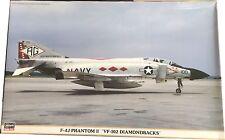 Hasegawa F-4J Phantom II VF-102 Diamondbacks Model Kit Ref 09727 Escala 1:48