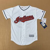 Majestic Cleveland Indians Youth Small Jersey Corey Kluber  #28 NWT