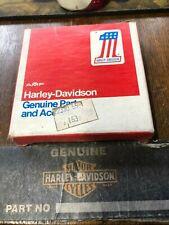 HARLEY PANHEAD SHOVELHEAD 1200 cc FOR 1  PISTON   +40 THOU OVER RINGS NEW  NOS