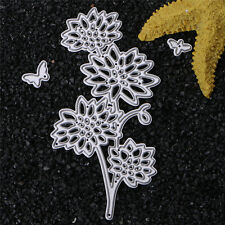 Metal Flower Cutting Dies Stencil DIY Scrapbooking Card Album Embossing Craft