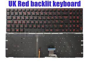 UK Red backlit keyboard for Asus GL502V GL502VM GL502VS GL502VT GL502VY GL702V