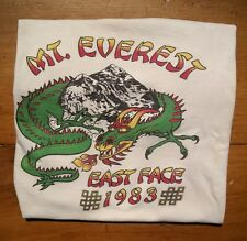 1983 Mt. Everest East Face Expedition T- Shirt.  1st ascent from east side.