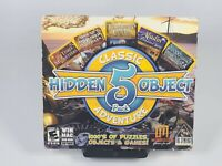 Hidden Object Classic Adventure 5-Pack 2012 PC DVD-ROM for Windows