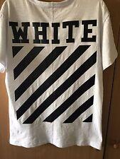 Camiseta de color blanco SS16 Blanco Talla M Usado ligeramente a Rayas