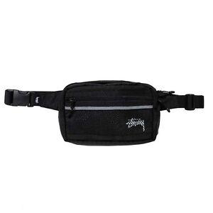 Stussy - Diamond Ripstop Waist Bag - Black
